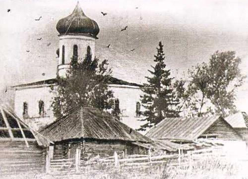 Храм в селе Полдневая